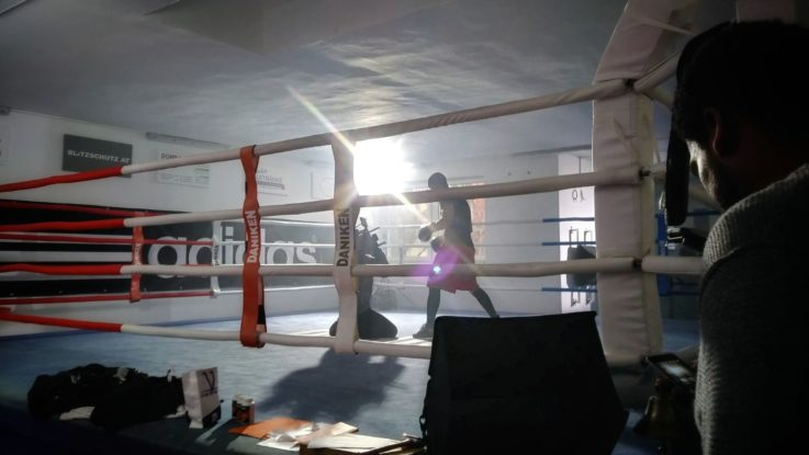 Videodreh Boxring