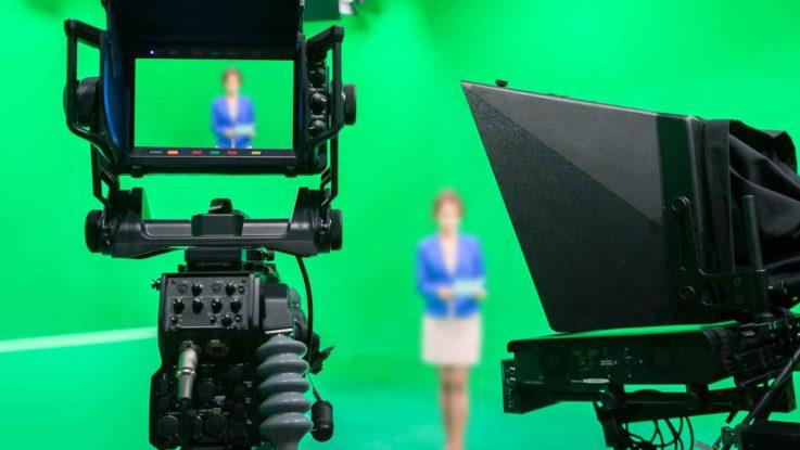 Film-und Videoproduktion über ein Bild dargestellt