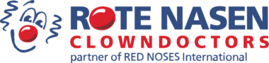 Logo der rote Nasen Clowndoktors